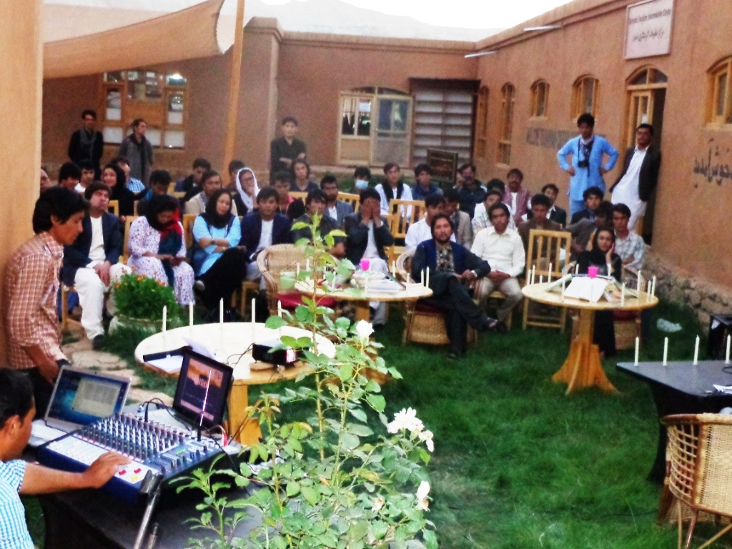 Bamyan Cultural Container- Poety and Music Evening-1