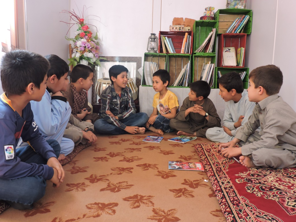 Children Listening to Story_Jawzjan_CC