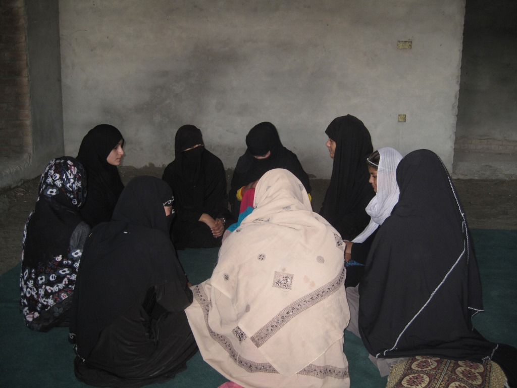 Female Art Classes in Nangarhar