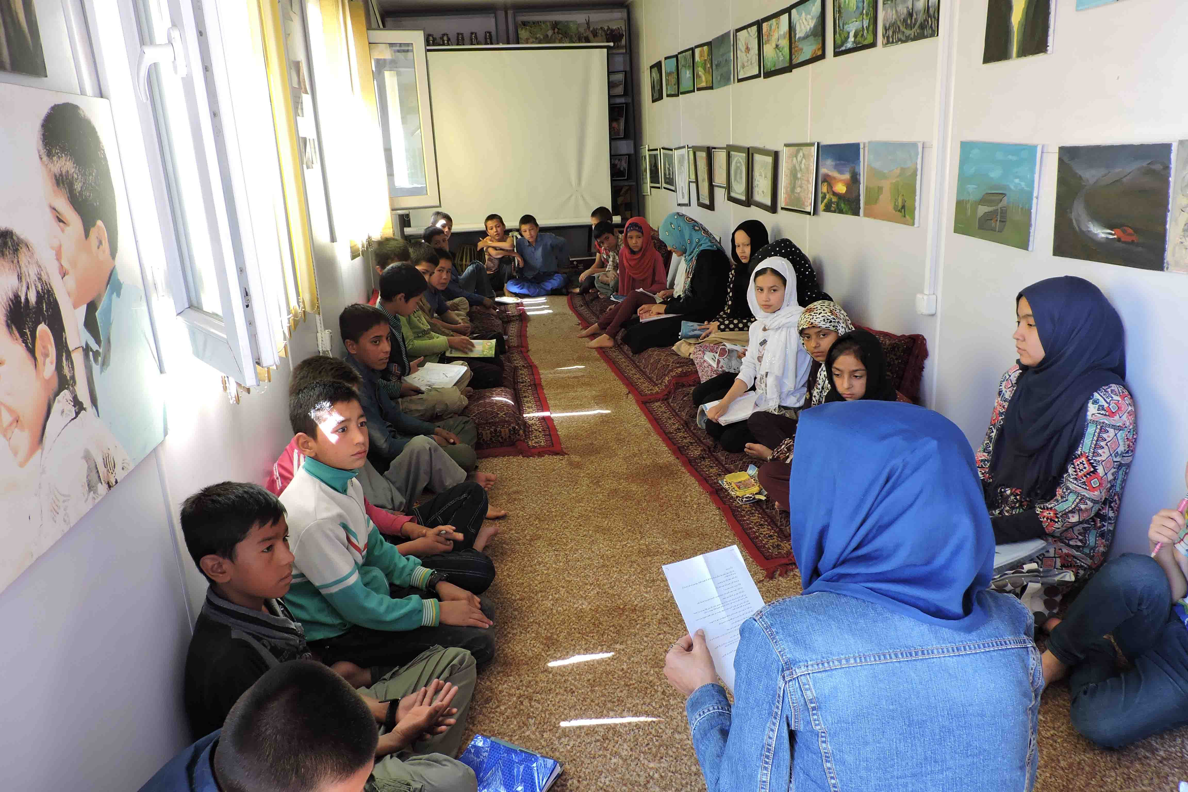 Story Telling Session -Kabul CC