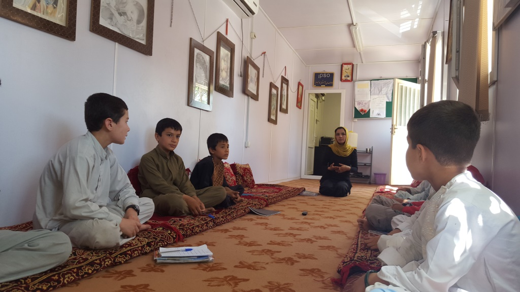 Story telling with Children_Jawzjan