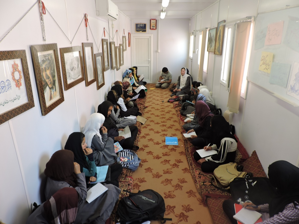 Writing thier Ideas_Cultural Dialogue_Jawzjan