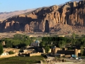 Empty place of the largest Buddha statue in Bamyan