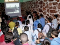 Kabul Cultural Container- Screening a short movie for students in an educational society