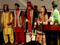 show of Afghan's traditional clothes in international day of living environment