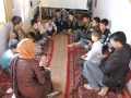 story telling session with the children